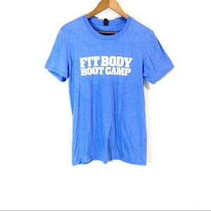Fit Body Boot Camp • Light Blue Short Sleeve